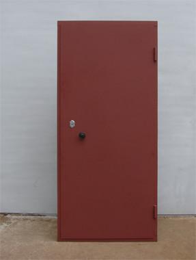 железная дверь из уголка купить